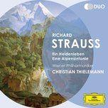 strauss, r.: ein heldenleben; eine alpensinfonie - wiener philharmoniker, christian thielemann