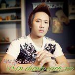 xin dung cach xa (single 2012) - chau khai phong