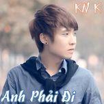 anh phai di (mini album 2013) - knk to huy