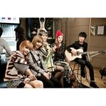 lonely & i love you @ yg on air (single) - 2ne1, sungha jung