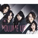 volume up (3rd mini album) - 4minute