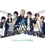 hot game (2nd digital single) - a-jax