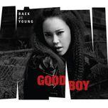 good boy (mini album) - baek ji young