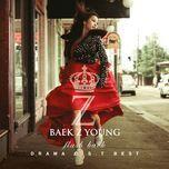 flash back (best of drama ost) - baek ji young