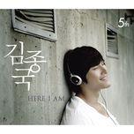 here i am (album vol. 5) - kim jong kook