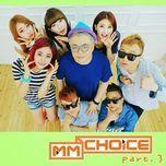 mm choice part.3 (single) - nine muses