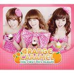 the first mini album - orange caramel