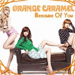 because of you (single) - orange caramel