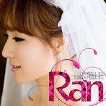 i love you my love (single) - ran
