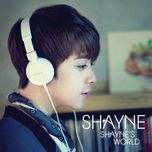 shayne's world (2nd mini album) - shayne