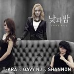 day and night (love all digital single) - t-ara, gavy nj, shannon