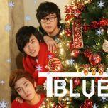 blue christmas (single) - t-blue