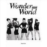 wonder world (2nd album) - wonder girls