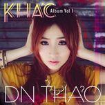 khac (vol. 1) - dn thao
