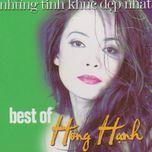 the best hong hanh - hong hanh, bang kieu
