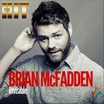 invisible (single) - brian mcfadden