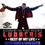 rest of my life (single) - ludacris, usher, david guetta