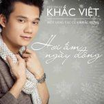 hoi am ngay dong (single) - khac viet