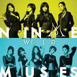 wild (mini album) - nine muses