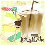 ice cafe latte (just a cream) (single) - pan, hatsune miku