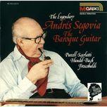 baroque guitar - andres segovia
