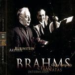 brahms cello sonatas piano pieces (vol. 64) - arthur rubinstein