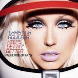 genie 2.0  (single) - christina aguilera