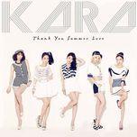 thank you summer love (japanese single) - kara