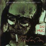 bang nhac du muc (1969) - trinh cong son