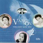 vang son (quoc bao vol. 2) - v.a