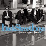 just want you to know (ep) - backstreet boys