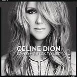 loved me back to life (japan version) - celine dion