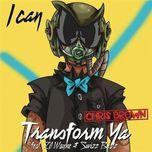 i can transform ya (single) - chris brown, lil wayne, swizz beatz