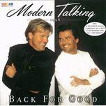 back for good (cd1) - modern talking