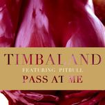 pass at me (single) - timbaland