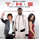 t.h.e. (the hardest ever) - will.i.am, mick jagger, jennifer lopez