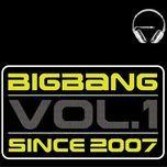since 2007 (vol. 1) - bigbang
