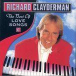 the best of love songs - richard clayderman