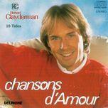 chansons d'amour - richard clayderman