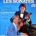 les sonates - richard clayderman, nicolas de angelis