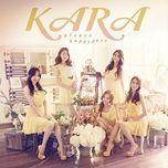bye bye happy days (japanese single) - kara