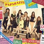 paparazzi (japanese single) - snsd