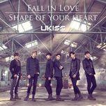 fall in love / shape of your heart (japanese single) - u-kiss