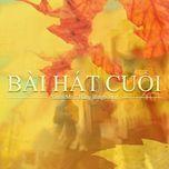 bai hat cuoi (single) - yanbi, mr.t, hang bingboong, bao anh