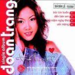trai tim buon (single) - doan trang