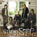 step by step (japanese single) - dbsk
