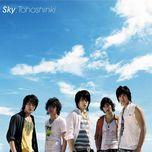 sky (japanese single) - dbsk