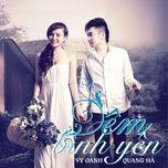 dem binh yen (single 2012) - vy oanh, quang ha