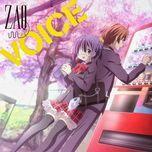 voice (single) - zaq