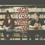 minh yeu nhau di (single) - bich phuong